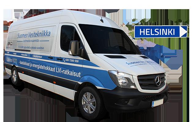 Ilma-vesilämpöpumppu Helsinki