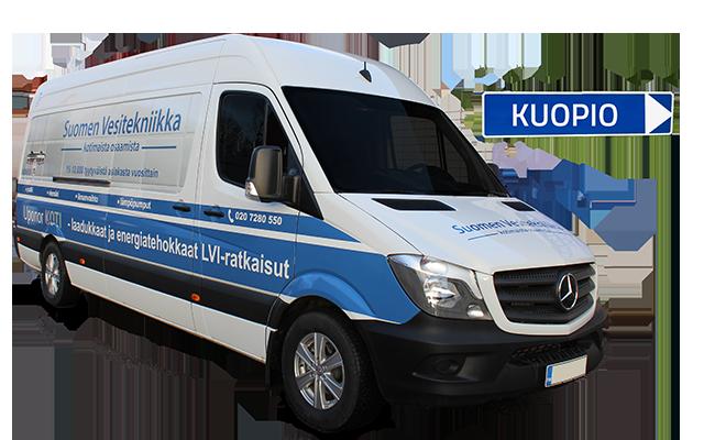 Ilma-vesilämpöpumppu Kuopio
